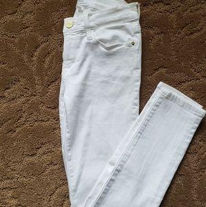 """Frame White """"Le Skinny de Jean"""" Skinny Jeans"""